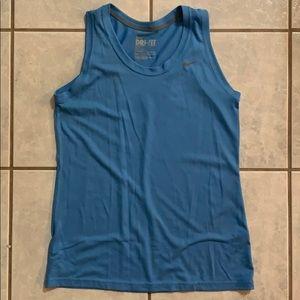 Nike Tank Top - M - Blue